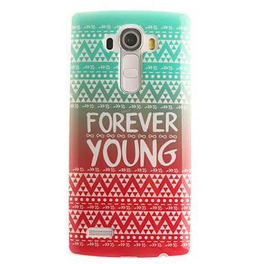 Mert LG tok Minta Case Hátlap Case Szó / bölcselet Puha TPU LG LG G4 / LG G3 Beat / G3 Mini / Other