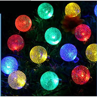 LED태양열 라이트 방수 따뜻한 화이트 내추럴 화이트 멀티 색상 <5V