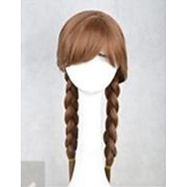 Συνθετικά μαλλιά Περούκες Κυματιστό Χωρίς κάλυμμα Καρναβάλι περούκα Απόκριες Περούκα Μακρύ