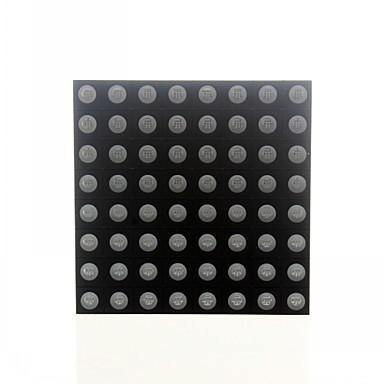 아두 이노를위한 8 × 8 RGB LED 풀 컬러 도트 표시 60x60mm 공통 양극