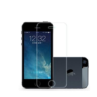 Képernyővédő fólia Apple mert iPhone 6s Plus iPhone 6 Plus iPhone SE/5s Edzett üveg 1 db Ultravékony Robbanásbiztos 2.5D gömbölyített