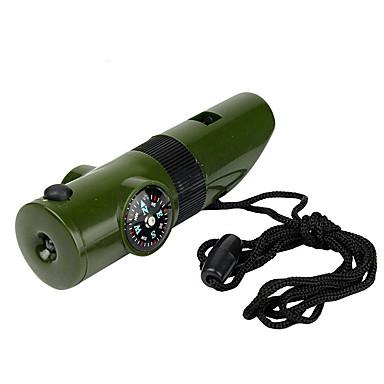 Outros Survival Whistle Compassos Termômetro Lupa Direcional Multifunção Equitação Campismo Viagem Exterior Plástico Other cm pçs