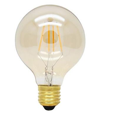 HRY 1db 360 lm E26/E27 Izzószálas LED lámpák G125 4 led Nagyteljesítményű LED Dekoratív Meleg fehér AC 220-240V