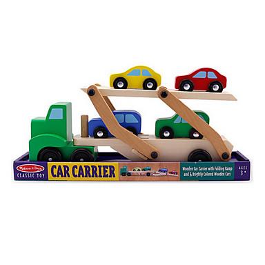 이중층 수송 차량 나무 장난감