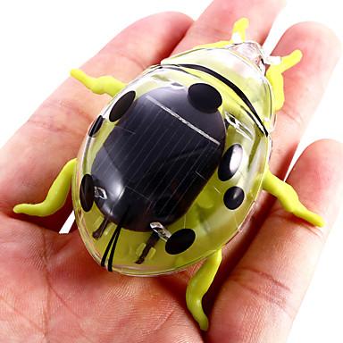 어린이를위한 태양 전원 딱정벌레 새로운 진동 장난감 교육 지원