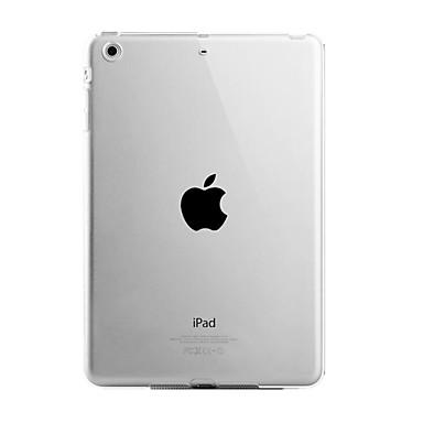 hoesje Voor iPad Air Transparant Achterkant Effen Kleur TPU voor iPad Air