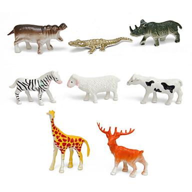 Modelos de exibição Animais Simulação Novidades Legal Plástico Para Meninas Dom 68pcs