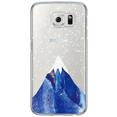 vissza Ultra vékony / Áttetsző Látvány TPU Mekano Ultra-thin Translucent Soft Back Cover Tok Samsung GalaxyS7 edge / S7 / S6 edge plus /