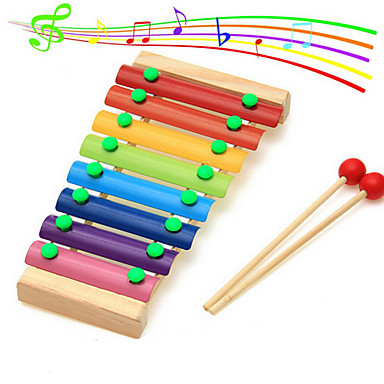bois octave frappe musique de piano pour les enfants d 39 ge pr scolaire jouets battu de 5116102. Black Bedroom Furniture Sets. Home Design Ideas