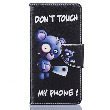 Mert Huawei tok / P9 / P9 Lite Kártyatartó / Flip Case Teljes védelem Case Other Puha Műbőr HuaweiHuawei P9 / Huawei P9 Lite / Huawei