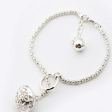 Női Lánc & láncszem karkötők - Divat Circle Shape Ezüst Vörös arany Karkötők Kompatibilitás Esküvő