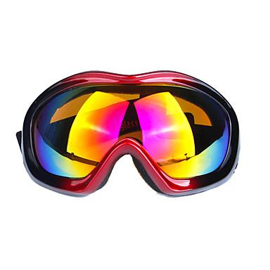 남성과 여성의 전문적인 하나의 스키 안경