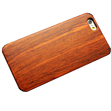 hoesje Voor iPhone 6 iPhone 6 Plus Other Achterkantje Houtnerf Hard Hout voor iPhone 6s Plus iPhone 6 Plus iPhone 6s iPhone 6