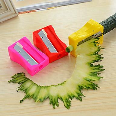 1PCS 크리 에이 티브 주방 가젯 스테인레스 / 플라스틱 야채 다지기