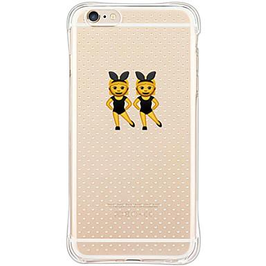 Mert iPhone 6 tok / iPhone 6 Plus tok Ütésálló / Porálló Case Hátlap Case Szexi lány Puha TPU AppleiPhone 6s Plus/6 Plus / iPhone 6s/6 /