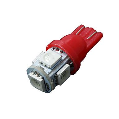 10 x rood t10 5-SMD 5050 leidde interieur gloeilampen W5W 2825 158 192 194 168