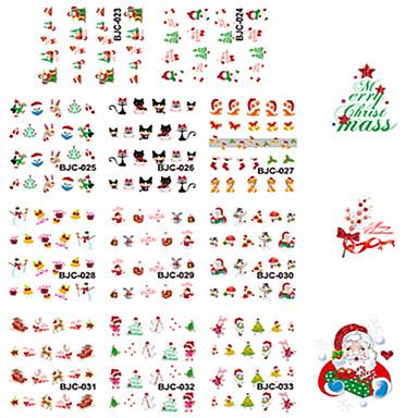 1 pcs Klasyczny / Kreskówka / Glitter & Sparkle Biżuteria do paznokci / Tipsy pełne / Inne dekoracje Nail Art Design Słodkie Codzienny