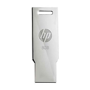 LE 8GB USB 2.0 flash meghajtó v236w kompakt kialakítás meeallic