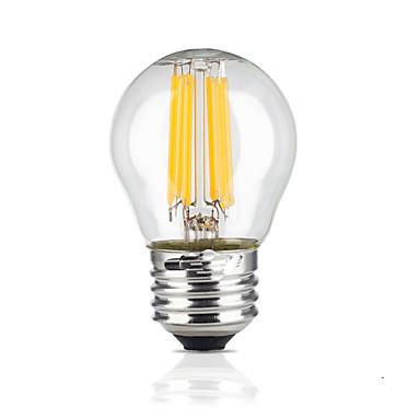 e26 / e27 led világító izzók g45 6 cob 600lm meleg fehér 2700k vízálló ac 220-240v
