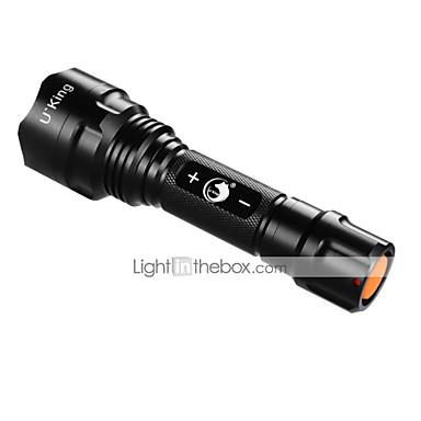 U'King ZQ-ZJTc8 LED zseblámpák LED 1200LM lm 3 Mód LED Tompítható Kempingezés/Túrázás/Barlangászat Szabadtéri