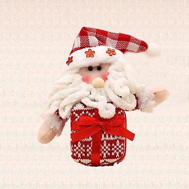 현재 어린이를위한 1 개 메리 크리스마스 트리 장식 선물 산타 클로스의 매력 나무에 매달려 펜던트