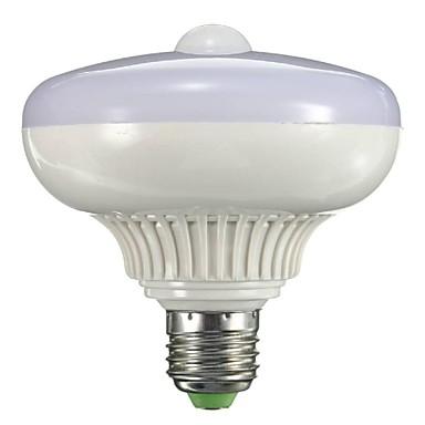 B22 E26/E27 Okos LED izzók A90 12 led Nagyteljesítményű LED Érzékelő Infravörös érzékelő Meleg fehér 800-1300lm 2000-3500K AC 85-265V
