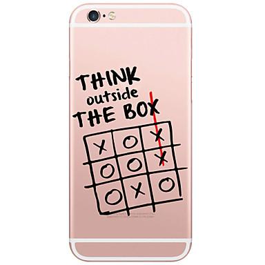 coque iphone 6 mots