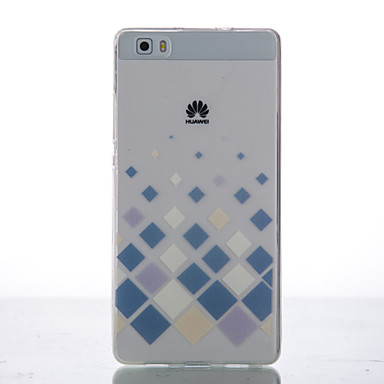 Mert Huawei tok / P8 / P8 Lite Ultra-vékeny / Other Case Hátlap Case Mértani formák Puha TPU Huawei Huawei P8 / Huawei P8 Lite