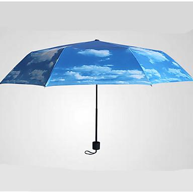 접는 우산 직물 여행 레이디 남성