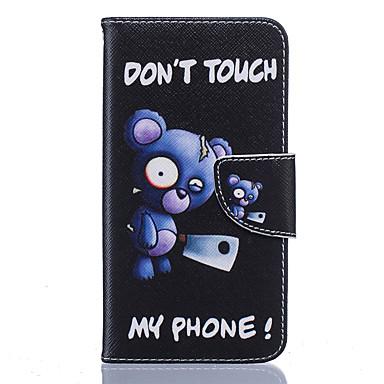 Mert Nokia tok Pénztárca / Kártyatartó / Ütésálló / Porálló / Állvánnyal Case Teljes védelem Case Rajzfilmfigura Puha Műbőr Nokia