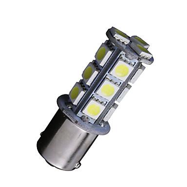 2 x brancas 1156 BA15S 18 SMD 5050 levou lâmpadas virar sinal de inversão de backup