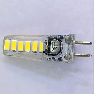 2.5W 200 lm G4 Żarówki LED kukurydza T 18LED Diody lED SMD 3014 Dekoracyjna Ciepła biel Zimna biel AC 12V