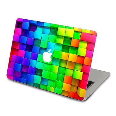 1 db Tok matrica mert Karcolásvédő Geometriai Ultravékony Matt PVC MacBook Pro 15'' with Retina MacBook Pro 15 '' MacBook Pro 13'' with