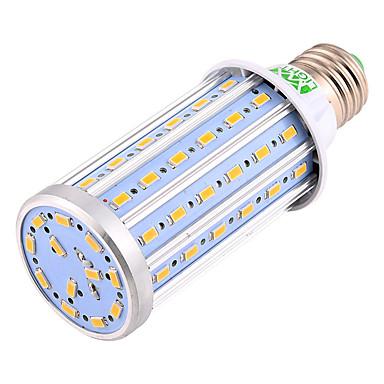 billige LED & Belysning-ywxlight® e27 25w 2000-2200lm højpære pære 72 ledede perler smd 5730 aluminium led lampe corn light 85-265v 110-130v 220-240v