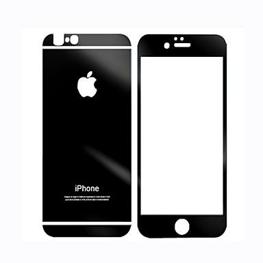 voordelige iPhone 6s / 6 Plus screenprotectors-Screenprotector voor Apple Gehard Glas 1 stuks Voorkant- & achterkantbescherming 9H-hardheid / Explosieveilige