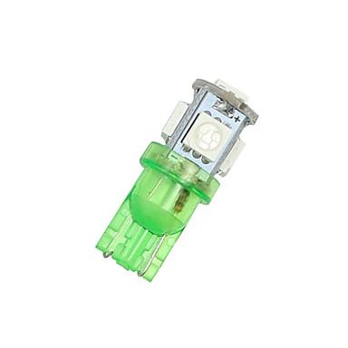 20 pcs vívido cunha verde t10 5-SMD 5050 levou lâmpadas W5W luz 192 168 194 2825 12v