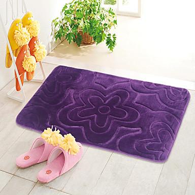 1db Alkalmi Fürdőszoba szőnyegek Poliészter Kortárs Fürdőszoba Könnyen tisztítható