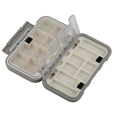 Horgászdobozok Horgászdoboz Vízálló Több funkciós 1 Tálca Műanyag 16 4.5