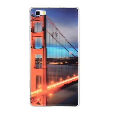 용 화웨이 케이스 / P8 Lite Other 케이스 뒷면 커버 케이스 시티뷰 소프트 TPU Huawei Huawei P8 Lite