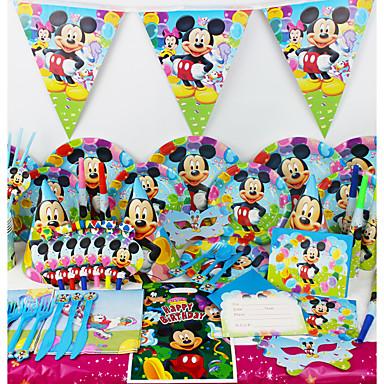 78 db születésnapi party dekoráció gyerekek evnent party kellékek party decoration 6 fő használ