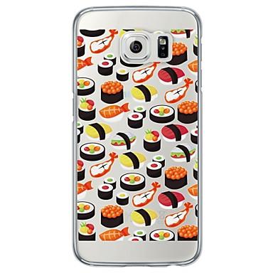 용 Samsung Galaxy S7 Edge 울트라 씬 / 반투명 케이스 뒷면 커버 케이스 타일 소프트 TPU Samsung S7 edge / S7 / S6 edge plus / S6 edge / S6 / S5 / S4