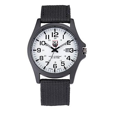 זול שעוני גברים-בגדי ריקוד גברים שעון יד קווארץ שחור שעונים יום יומיים אנלוגי קלסי יום יומי אריסטו - ירוק כחול לבן ושחור שנה אחת חיי סוללה / מתכת אל חלד / SSUO 377
