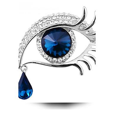 Damskie Broszki Spersonalizowane Modny Kryształ Biżuteria Na Impreza Codzienny Casual