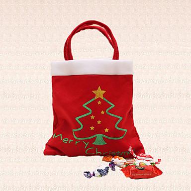 1db cukorka táska boldog karácsonyfa díszítés otthon fél által az új év