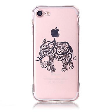 Fekete tok Biszkvit-porcelán / Dombornyomott / Minta Other TPU Mekano Tok AppleiPhone 6s Plus/6 Plus / iPhone 6s/6 / iPhone SE/5s/5 /
