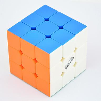 Rubik küp QI YI LEISHENG 120 3*3*3 Pürüzsüz Hız Küp Sihirli Küpler bulmaca küp profesyonel Seviye / Hız / yarışma Hediye Klasik & Zamansız Genç Kız