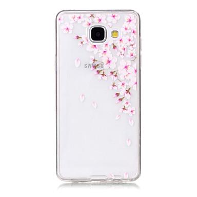 Kompatibilitás Samsung Galaxy tok tokok Ultra-vékeny Átlátszó Minta Hátlap Case Más Puha Hőre lágyuló poliuretán mert SamsungA5(2016)