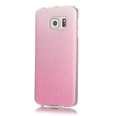 Недорогие Чехлы и кейсы для Galaxy S6-Кейс для Назначение SSamsung Galaxy S7 edge / S7 / S6 edge С узором Кейс на заднюю панель Сияние и блеск Мягкий ТПУ