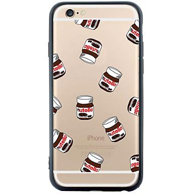 용 아이폰6케이스 / 아이폰6플러스 케이스 투명 / 패턴 케이스 뒷면 커버 케이스 카툰 소프트 TPU Apple iPhone 6s Plus/6 Plus / iPhone 6s/6 / iPhone SE/5s/5