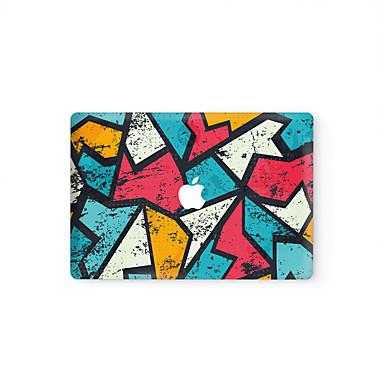 1 db Tok matrica mert Karcolásvédő Geometriai Matt Ultravékony PVC MacBook Pro 15'' with Retina MacBook Pro 15 '' MacBook Pro 13'' with